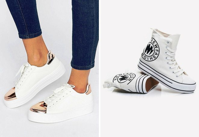 С чем носить белые кеды женские – Блог о рукоделии и моде 41777b2bcfd