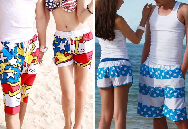 Женские шорты для пляжа 38