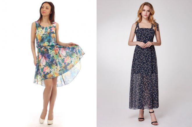 повседневные летние платья 2018