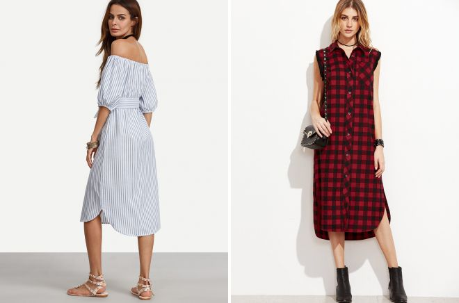 модные повседневные платья 2018