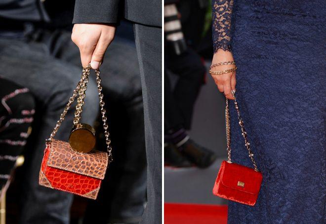 стильная красная сумка