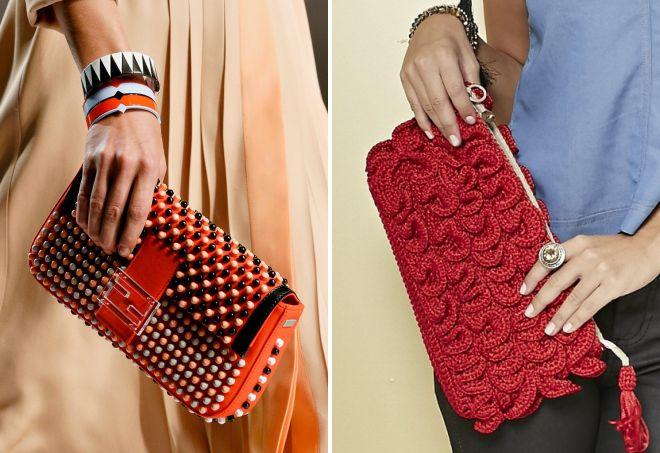женские красные сумки