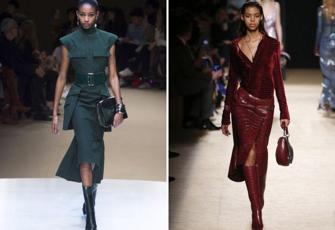 модный цвет одежды осень 2018
