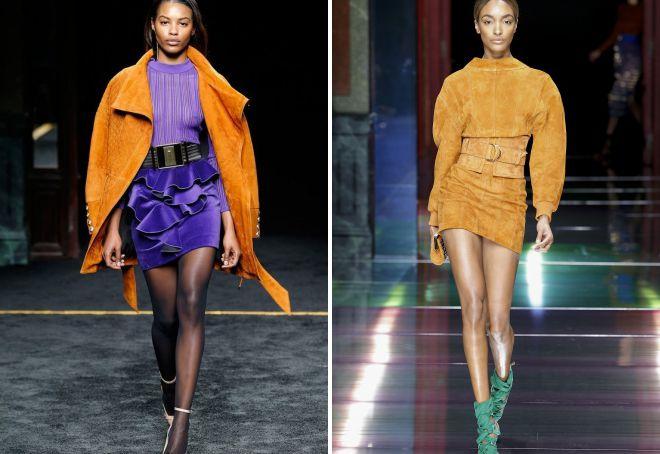 модные сочетания цвета осень 2018 в одежде