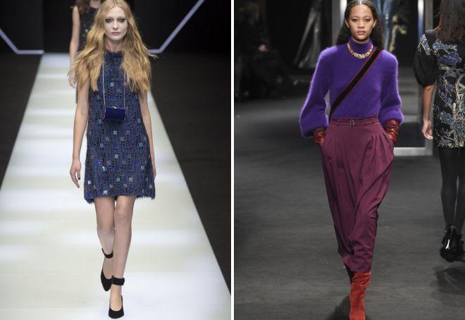 модные цвета 2018 года в одежде осень