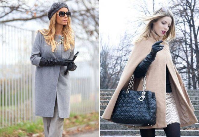 с чем носить женские длинные перчатки
