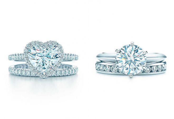 двойное кольцо тиффани