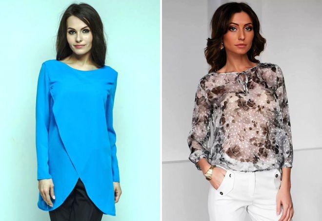 b2c0fdbf3e3 Женские модные блузки 2017 года – повседневные и нарядные ...