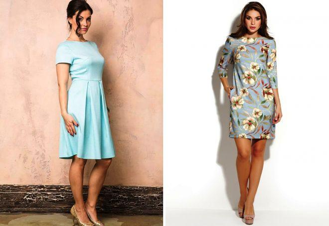 короткие платья на весну
