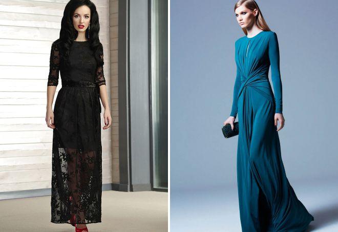 классические вечерние платья