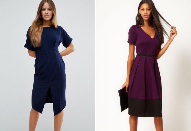 классические платья 2018