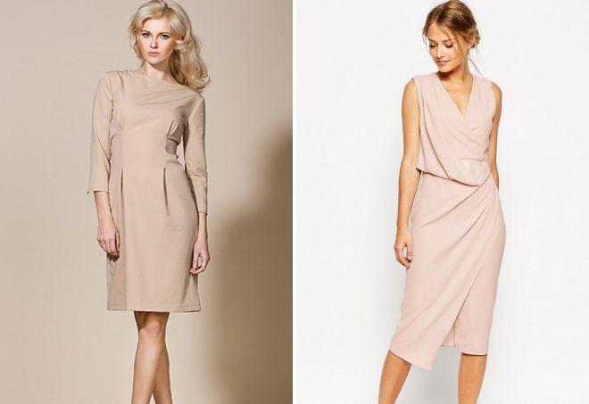 классические платья мода 2018