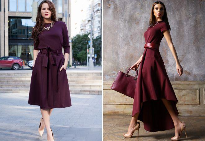 feb668c78b6 Модные платья для женщин после 40 лет – длинные