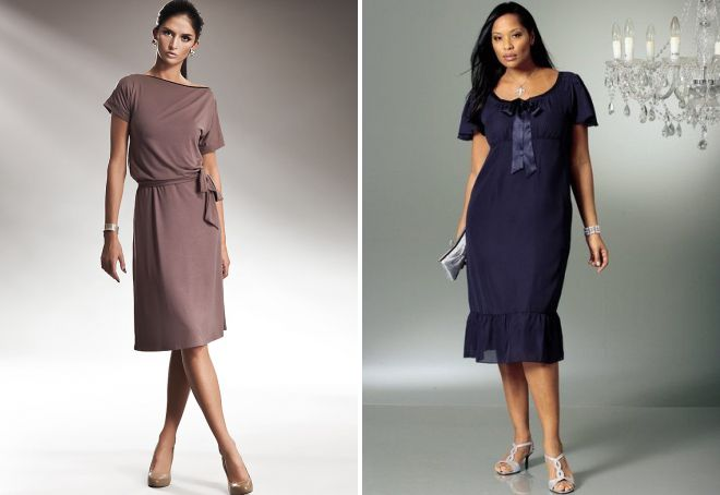 c1443dc849b Модные платья для женщин после 40 лет – длинные