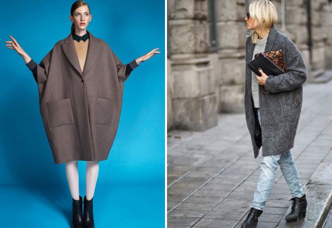 виды пальто для женщин
