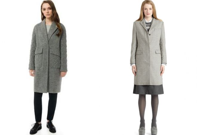 виды пальто с воротником