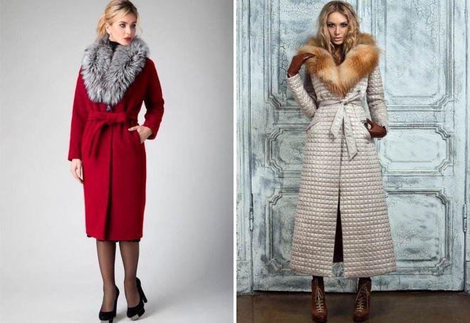 виды зимних пальто