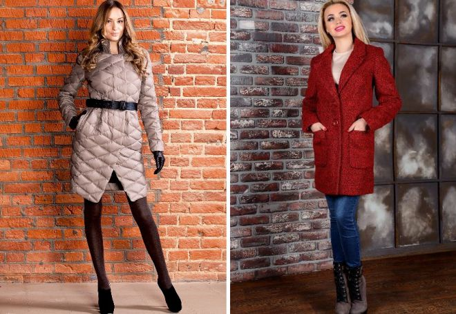 демисезонные пальто виды