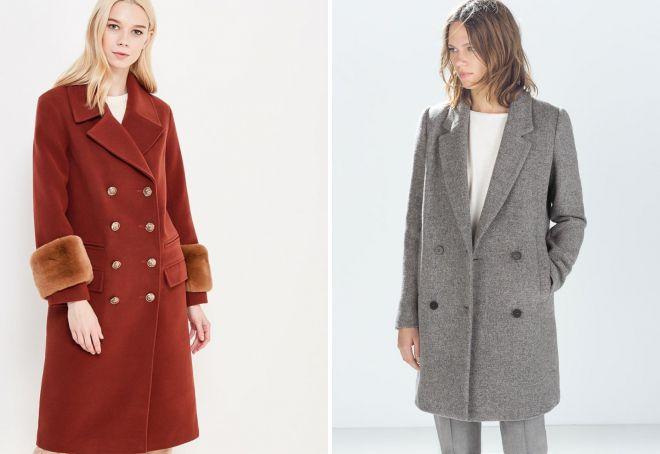 виды драповых пальто