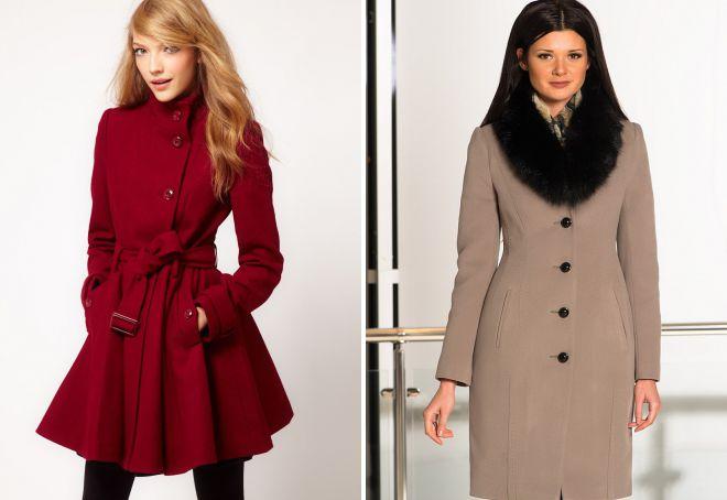 виды моделей пальто