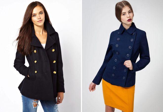 какие бывают виды пальто