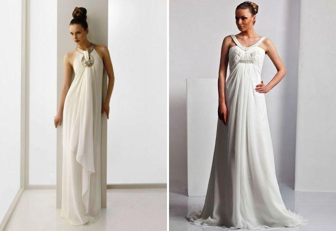 греческие свадебные платья для беременных