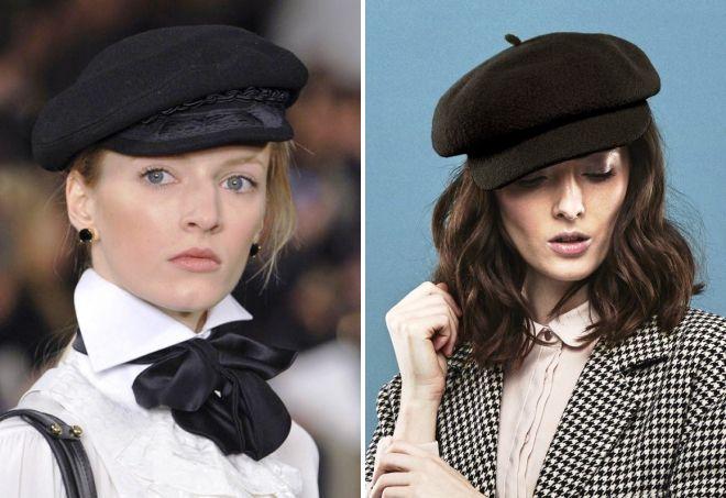 черные кепки для девушек