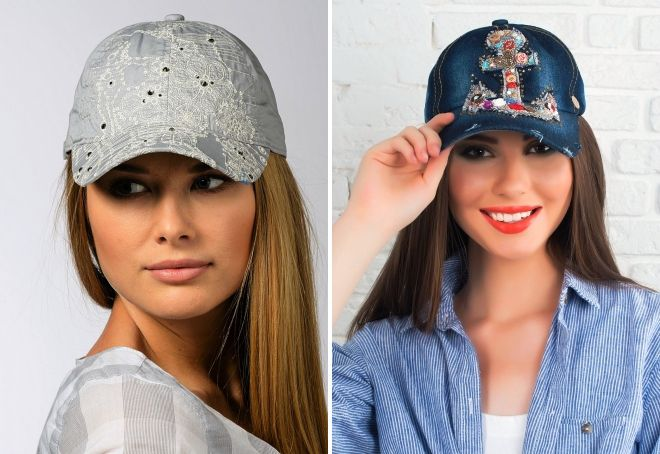 женские летние кепки