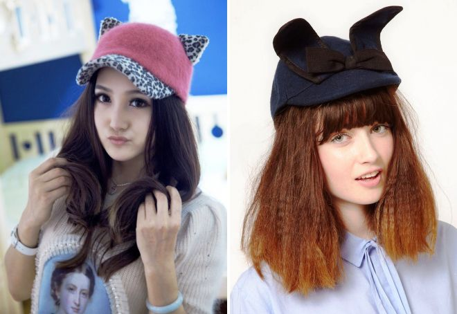 красивые женские кепки