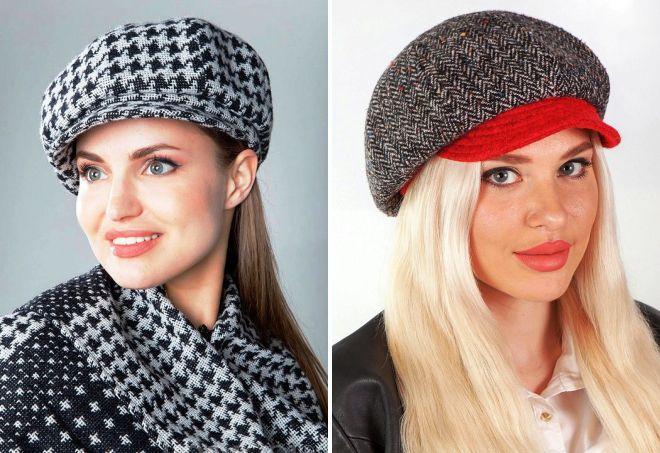 женские стильные кепки
