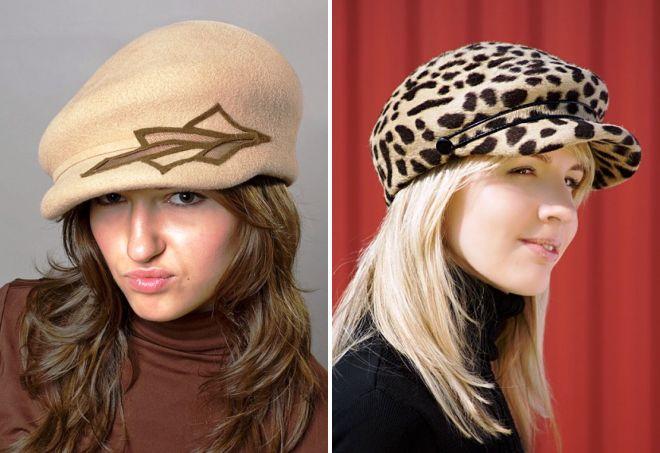 модные кепки для девушек