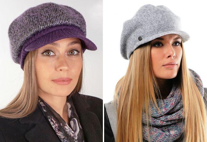 модные кепки для женщин