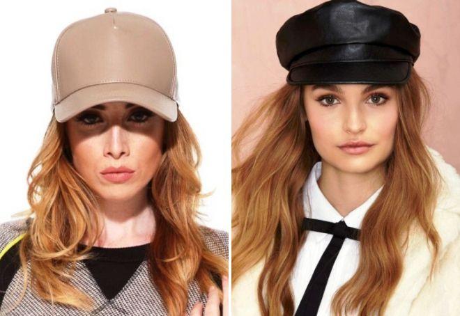 кепки для женщин