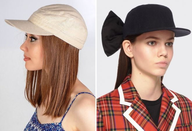 стильные кепки для девушек