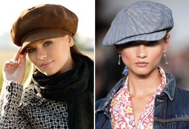 женская кепка гаврош