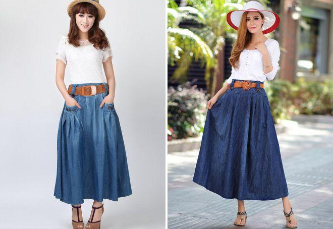 красивые летние юбки