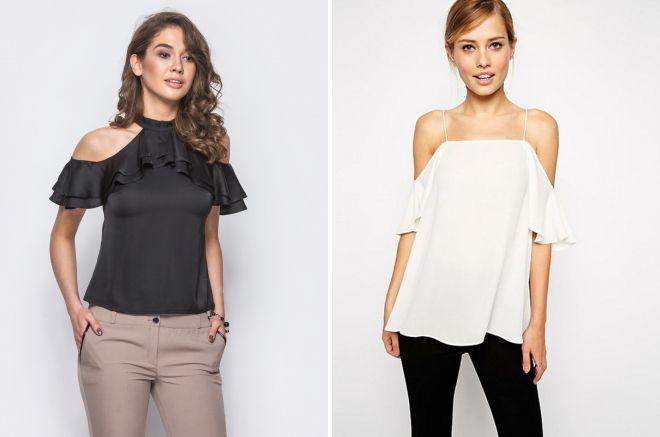 модные летние блузки 2018
