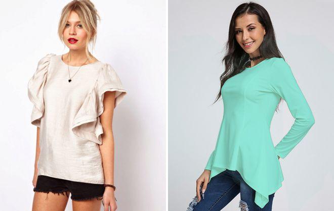 летние блузки 2018 года модные тенденции
