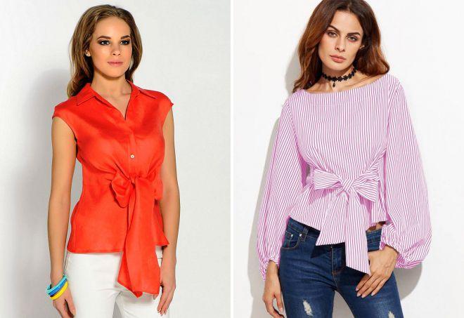 женские блузки лето 2018