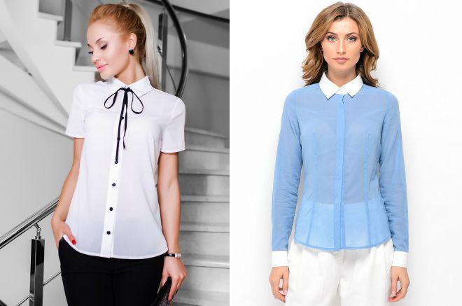 модные женские летние блузки 2018