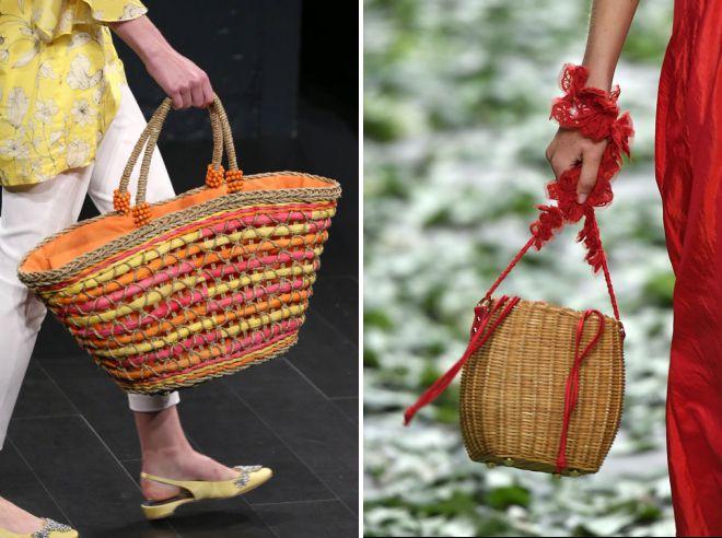 плетеные сумки 2018