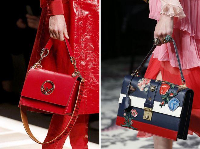брендовые сумки лето 2018
