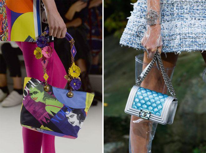 какие сумки в моде летом 2018