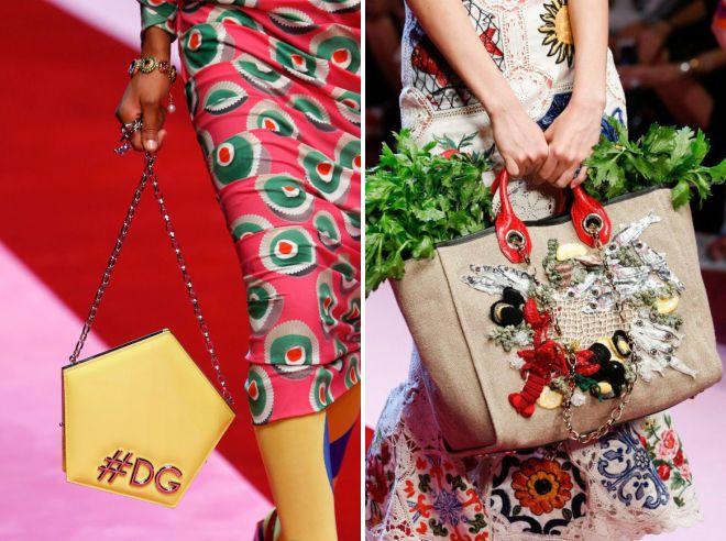 модные сумки для женщин лето 2018