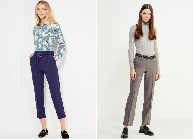 pantalons pour femmes 2018
