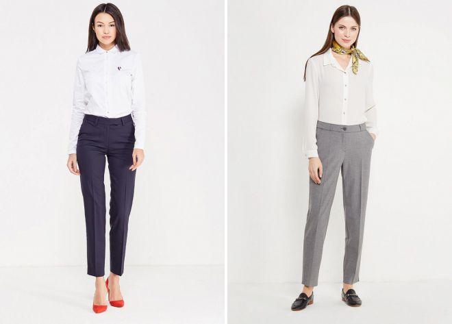классические женские брюки 2018