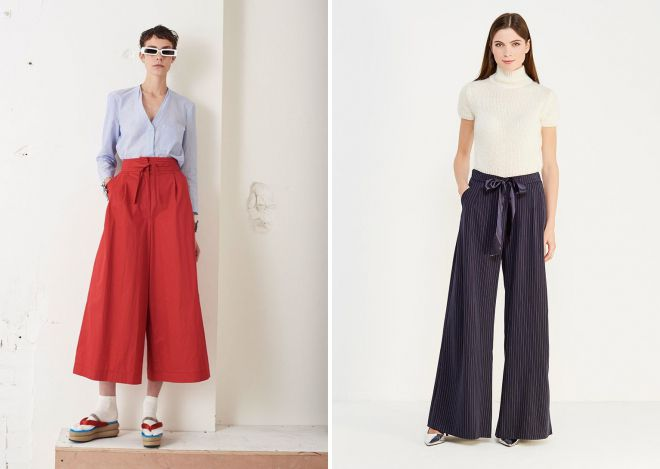 pantalon large 2018
