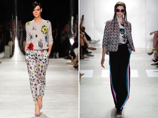 Pantalon d'été 2018, tendances de la mode
