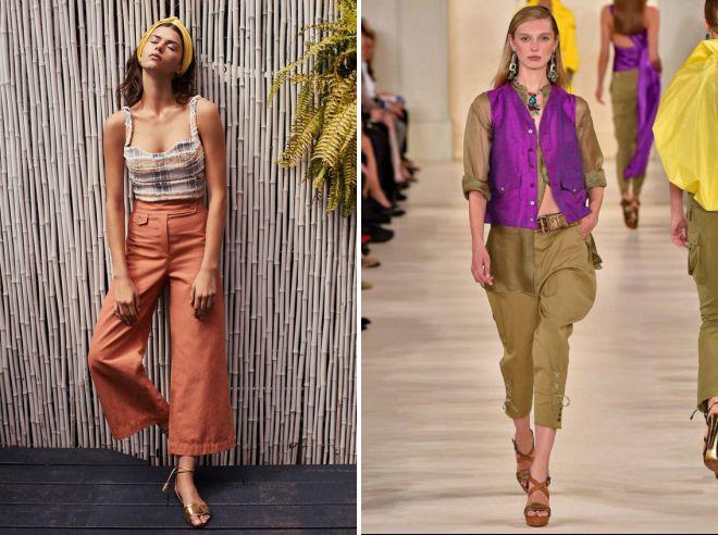 брюки 2018 года модные тенденции