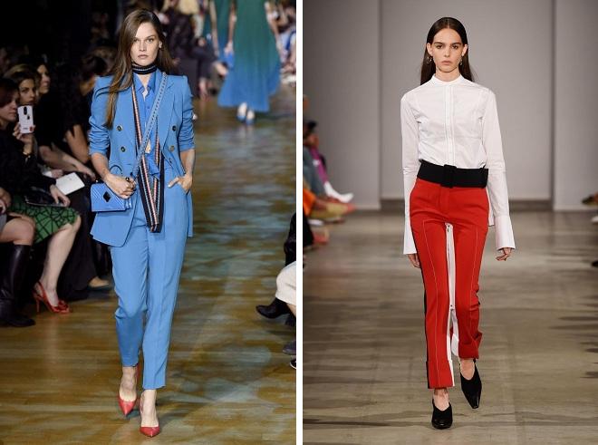 pantalon de couleurs à la mode 2018